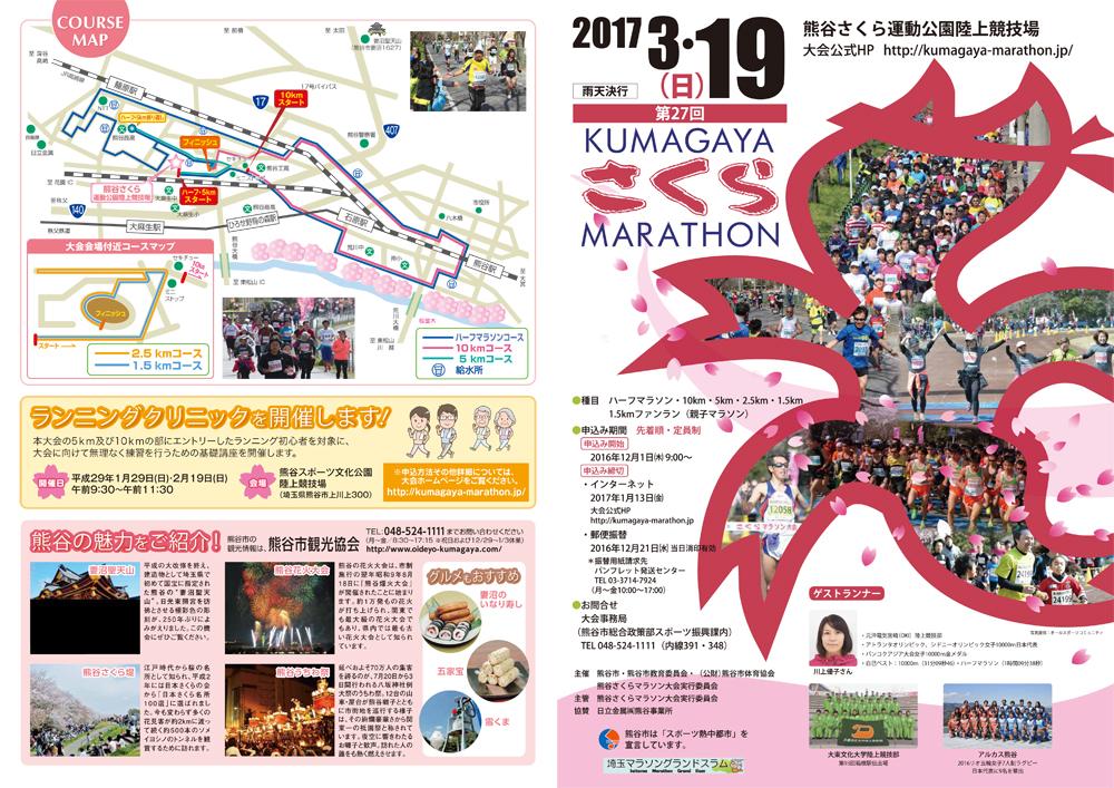 熊谷市さくらマラソン